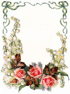 ландыши и розы