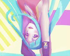 MEMEME Blu girl by Zeronis.deviantart.com on @DeviantArt