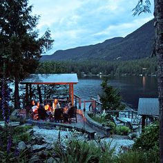 Sakinaw Lake Lodge, Sunshine Coast, B.C. It's a journey to Sakinaw Lake Lodge (a ferry from Vancouver, a drive, then a small-boat ride), but...