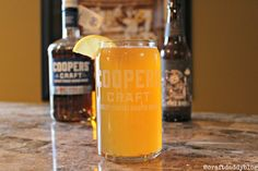 Happy National IPA Day! Bourbon and an IPA together? Yep and it made for one hell of a craft beer cocktail.