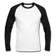 Dad Brand Good Spirits - White Men's Baseball T-Shirt Funny T Shirts,... ($26) ❤ liked on Polyvore featuring men's fashion, men's clothing, men's shirts, men's t-shirts, mens tailored shirts, mens raglan shirts, mens longsleeve shirts, mens white shirts and mens baseball shirts
