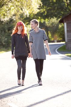 Knitted jumper Dots, Knitted tunic - KAINO Knitwear AW13