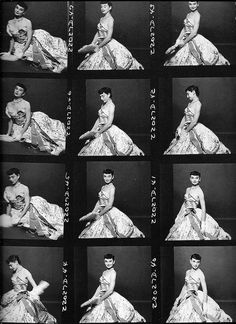 pre-famous Audrey Hepburn during her Broadway debut as Gigi. Photographs by Richard Rutledge. (March 1, 1952), via Flickr