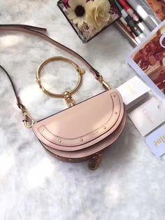 Chloe woman nile ring handle bag original leather