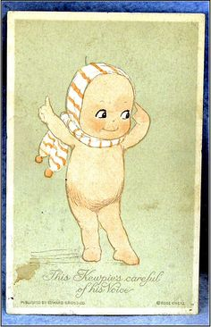 Rose O'Neill Large Kewpie Postcard