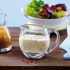 Dressing - leckere Begleiter für knackige Salate - honig-senf Rezept