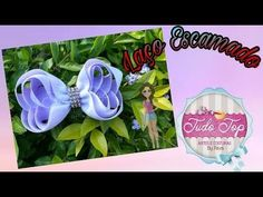 YouTube Ribbon Hair Bows, Girl Hair Bows, Disney Hair Bows, Hair Bow Tutorial, Hand Embroidery Flowers, Bazaar Ideas, Fabric Bows, Diy Bow, Cheer Bows
