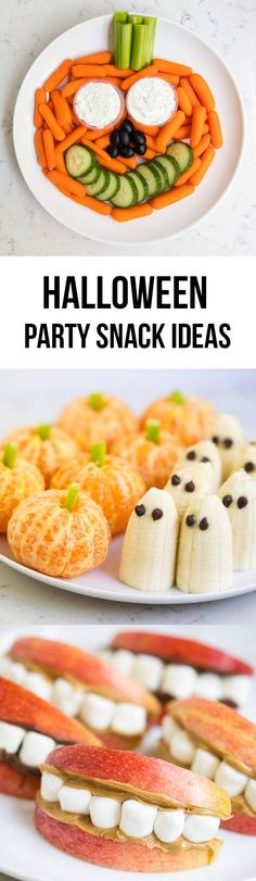 holiday treats Our favorite Halloween snack ideas for school .cute, easy, non-candy ideas that kids will love! Pumpkin vegetable platter +our favorite Halloween snack ideas for school .cute, easy, non-candy ideas that kids will love!How did Halloween Halloween Snack Ideas For School, Plat Halloween, Easy Halloween Snacks, Holiday Snacks, Halloween Desserts, Halloween Food For Party, Halloween Kids, Healthy Halloween, Halloween Fest