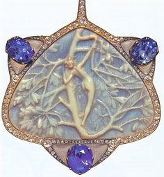 THE SPLENDORS OF LALIQUE ART, Jewelry