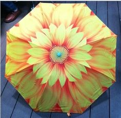 New arrival Creative Sunflower Oil Painting Umbrella UV Protection Sun Umbrella Women,Waterproof easy drying Umbrella Rain men-in Umbrellas from Home & Garden on Aliexpress.com | Alibaba Group