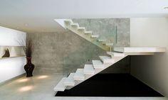 Sala de Estar Efeito Decorativo Concreto