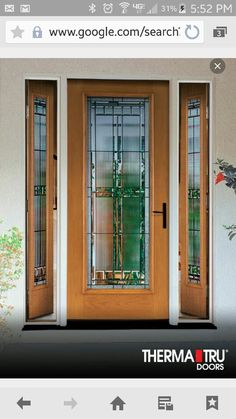 Awesome Entry Doors with Vented Sidelites