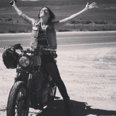 A womens true love of motorcycles. #women