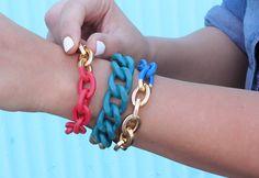 I Spy DIY: MY DIY | Bright Chain Jewelry