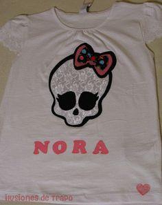 camiseta personalizada monster