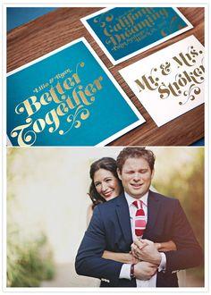 Palm Springs wedding: Lilia + Ryan via 100 Layer Cake