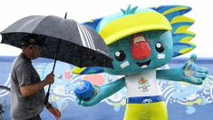 Pack your ponchos Scattered showers predicted for Opening Ceremony