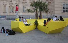Urban Empire, I love the lounge sofa's in Vienna