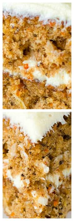 This is the Best Homemade Carrot Cake recipe because it is a sweet, moist, and dense Carrot Cake made from scratch with pineapple, coconut and pecans. When you want a dessert that everyone will love, make this cake! Cheesecake Cupcakes, Carrot Cake Cheesecake, Homemade Carrot Cake, Homemade Cakes, Carrot Cakes, Cookie Cake Pie, Pie Cake, Sweet Recipes, Cake Recipes