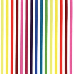 Michael Miller Stripes Stripe Couture Rainbow