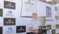 Charlie Saxon escapó con la victoria en el Lexus Perú Open