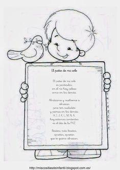 Kids poem in Spanish, poesia de la escuela para niños