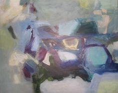 hopscotch   48x60 inch acrylic on canvas by Becky Fixter