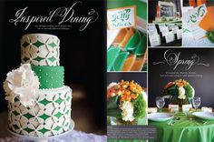 Wedding Stationery from Paper - Michigan Wedding with Pearls Events: Pearls Events Press Celtic Wedding, Irish Wedding, Our Wedding, Orange Wedding, Wedding Colors, Wedding Stationery, Wedding Planner, Bridal Show, Cute Cakes