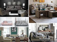 Sofa Style: 20 Chic Seating Ideas    Love the linen sofa