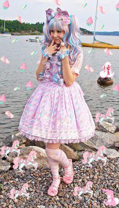 Sugary Carnival ♥ ロリータ, sweet lolita, fairy kei, decora, lolita, loli, gothic lolita, pastel goth, kawaii, fashion, victorian, rococo ♥