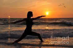 Tai Chi sunsets - this would be perfect.  My favorite exercise at my favorite place, any warm beach!