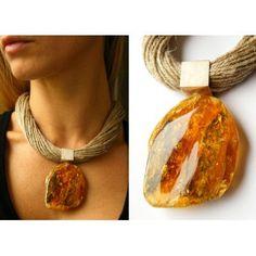 Honey  Baltic Amber  Pendant