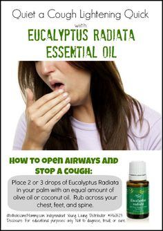 Silence a #Cough in Record Time; Naturally  Visit    LEARN MORE and ORDER HERE: HeavenScentOils4U... #yleo #youngliving #essentialoils #essential #oils #heavenscentoils4u