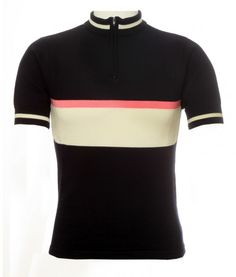 jura cycling merino jersey ss black pink ecru