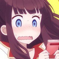 Slice Of Life Anime, Draw The Squad, Anime Expressions, Cute Anime Character, Mood Pics, Cartoon Icons, Best Waifu, Anime Art Girl, All Anime