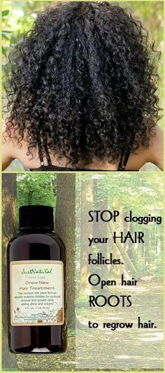 Fast fix for weak hair. Reverse hair damage. Stop clogging your hair follicles. Open hair roots to regrow hair. Regrow new stronger hair. Encourage your hair to grow faster longer and fuller with less breakage in a non-chemical way. Go ahead, your hair is