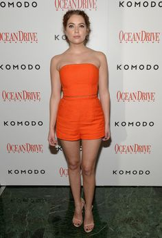 Ashley Benson - Ocean Drive 23rd Anniversary