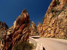 Stuning landscape of Calanques de Piana - Corsica