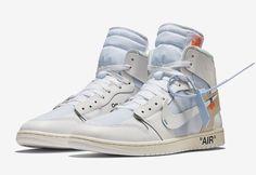 e4b1c46ecf523e Nike Air Jordan 1 X Off White NRG White Size 10 Virgil AblohAQ0818-100 (