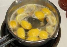 Faites bouillir les citrons le soir et buvez le liquide dès votre réveil.... Vous serez étonné par ses effets