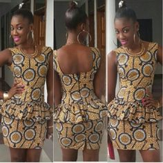 african shop ~African Prints, African women dresses, African fashion styles, african clothing