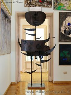 House Boschi Stefano in Milan (Italy): a private apartment transformed in a rich contemporary art museum!