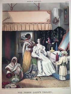 """""""'Our hero is a sportsman': British domestic interiors in 19th century India"""" from British Library - An analysis of how domestic scenes in the homes of British people in India are portrayed."""