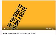 Find out how you can start selling on Amazon Sell On Amazon, How To Become, Desktop
