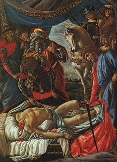 The Discovery of the Body of Holofernes - Sandro Botticelli (1445-1510)
