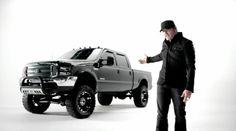 Ford F-350 Super Duty (2003) pickup truck in DRINK TO THAT ALL NIGHT by Jerrod Niemann (2014) #ford Jerrod Niemann, Pickup Trucks, Ford Trucks, Monster Trucks, Vehicles, Addiction, Drink, Night, Soda