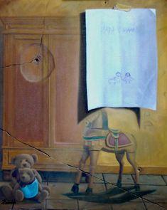 Hace 45 segundos  Obra denominada RECUERDOS DE INFANCIA, realizada en óleo sobre lienzo de 85x54 cm.