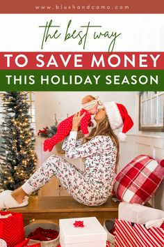 The best way to save money this holiday season while getting your Christmas shopping all done! Learn how to put money back into your pocket while shopping this holiday season, who doesn't love saving money? #holidayshopping #holidaybudget #savingmoneytips #howtosavemoney #savemoremoney