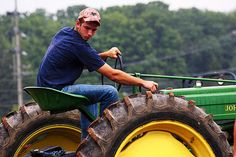 Kenny Chesney is so right I think your tractor is sexy