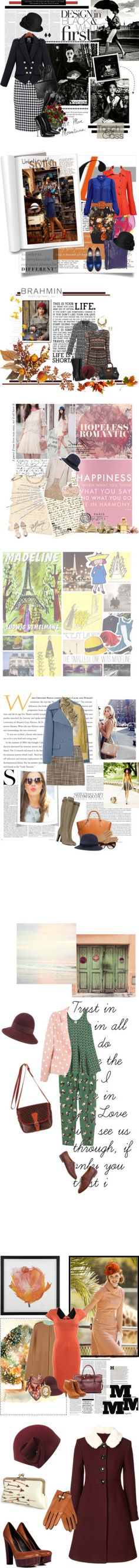 """""""Charming Cloches"""" by polyvore-editorial on Polyvore"""